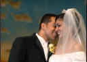 Jubilee Christian Church Santa Clara Wedding Photography & Videography close-up after ceremony